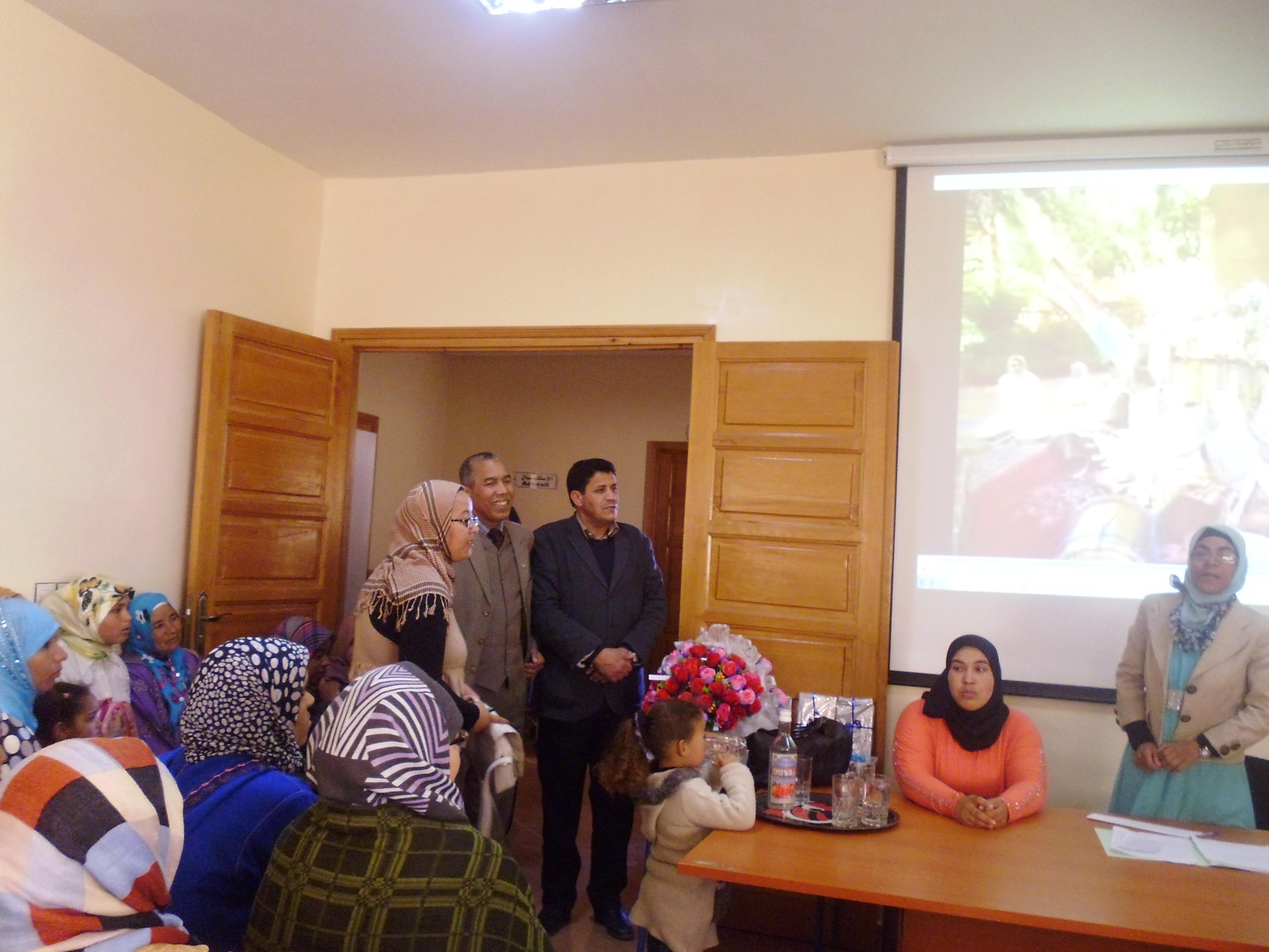 الاحتفال باليوم العالمي للمرأة بالمركز السوسيو ثقافي عثمان أوموسى
