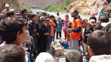 مجموعة مدارس ابن زيدون بجماعة كير بكرامة تنظم رحلة دراسية لفائدة تلاميذ المؤسسة