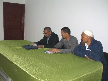 تجديد الكتابة المحلية للفضاء المغربي للمهنيين بميدلت.