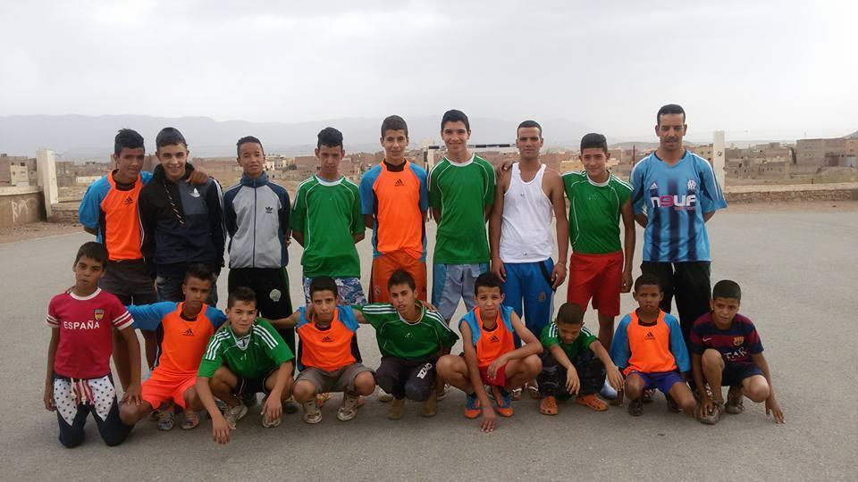 اختتام دوري رمضان لكرة القدم باعدادية مولاي يوسف بميدلت.
