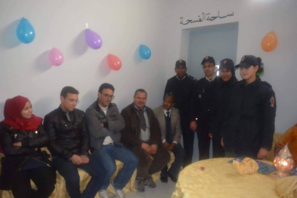 المجتمع المدني يدخل السجن المدني بميدلت بمناسبة عيد المرأة