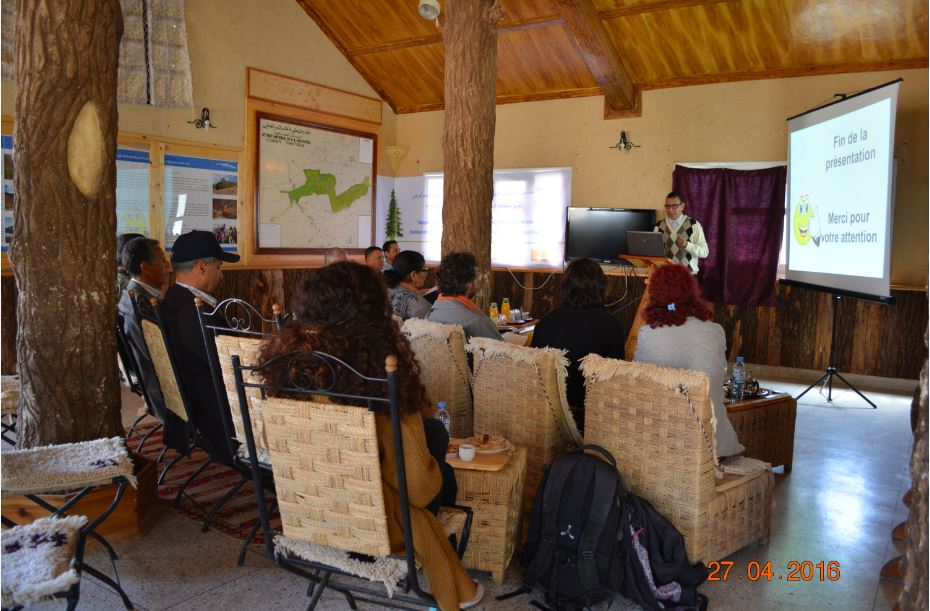 جمعية ملوية العليا بيئة في لقاء مع الجهة الدولية المانحةCEPF وشركائها
