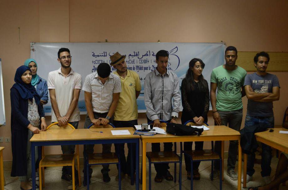 جمعية أطر إقليم ميدلت للتنمية تجدد مكتبها المسير في جمع عام عادي.