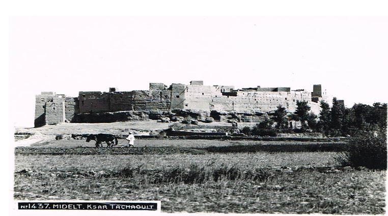 قصور ميدلت: تشاويت القصر المتمرد