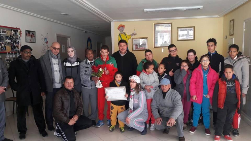 مركز أناروز بميدلت يحتفي بأبطاله من ذوي الاحتياجات الخاصة