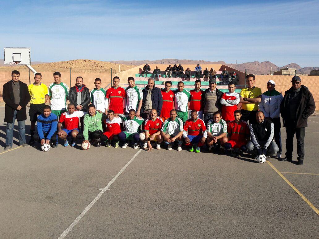 فريق ميدلت لمؤسسة الاعمال الاجتماعية  من التأهل  لنهائيات كرة القدم المصغرة وطنيا