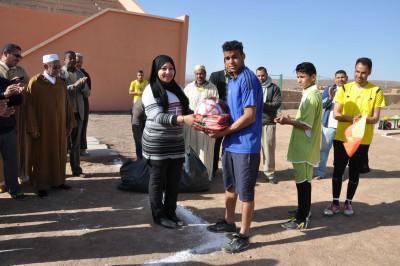 تازارين: سمية وعلال برلمانية إقليم زاكورة تلتفت للرياضة المحلية