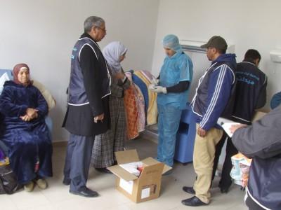 حملة طبية جراحية مجانية  من تنظيم ودادية آيت منصور  الاجتماعي والبيئي بميدلت