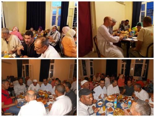 إفطار جماعي بمركز المسنين بميدلت
