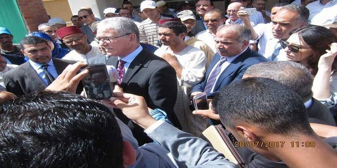 الوردي يفتتح مستشفى للقرب بالريش+ بيان صحفي