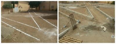 جمعية الرياض للبيئة بميدلت تهيكل ثلاث ساحات عمومية أخرى بحي للا مريم