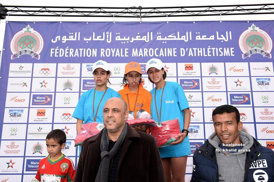 أبطال نادي ملوية للالعاب القوى لبومية يتاهلون للبطولة المغاربية المدرسية القادمة بتونس
