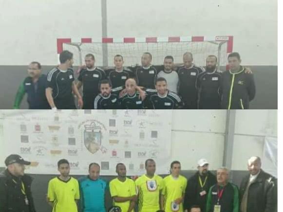 فريق مؤسسة الاعمال الإجتماعية لكرة القدم فرع ميدلت  يحرج فريق فرع اكادير.