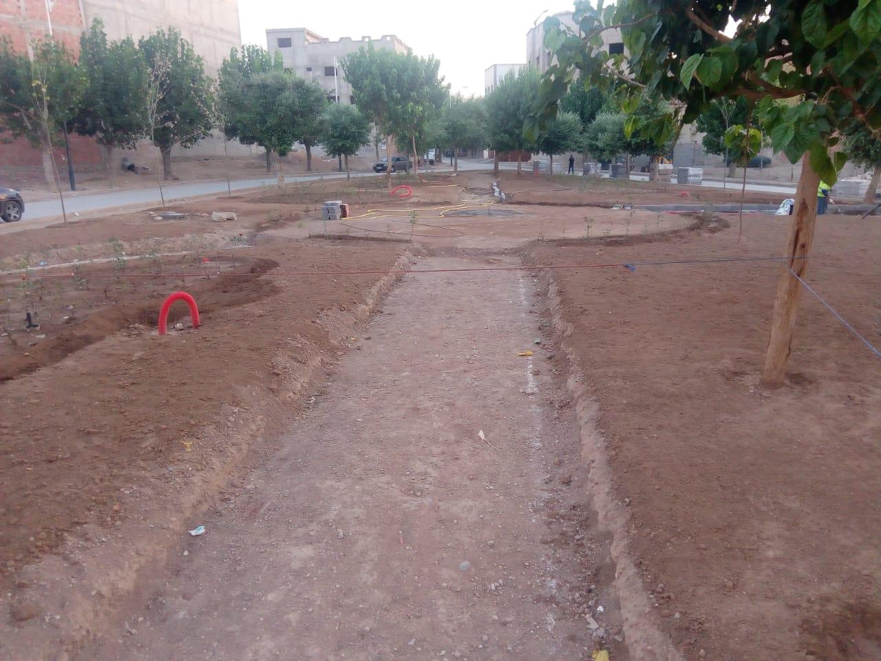 فضاء أخضر جديد يرفع الحيف الاخضر على ساكنة ايت منصور و تداوت – ميدلت