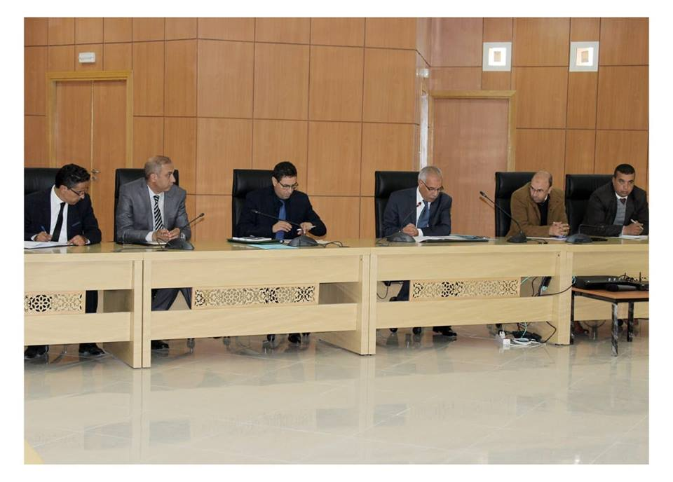 عامل الاقليم يترأس اجتماع اللجنة الاقليمية للمبادرة الوطنية للتنمية البشرية