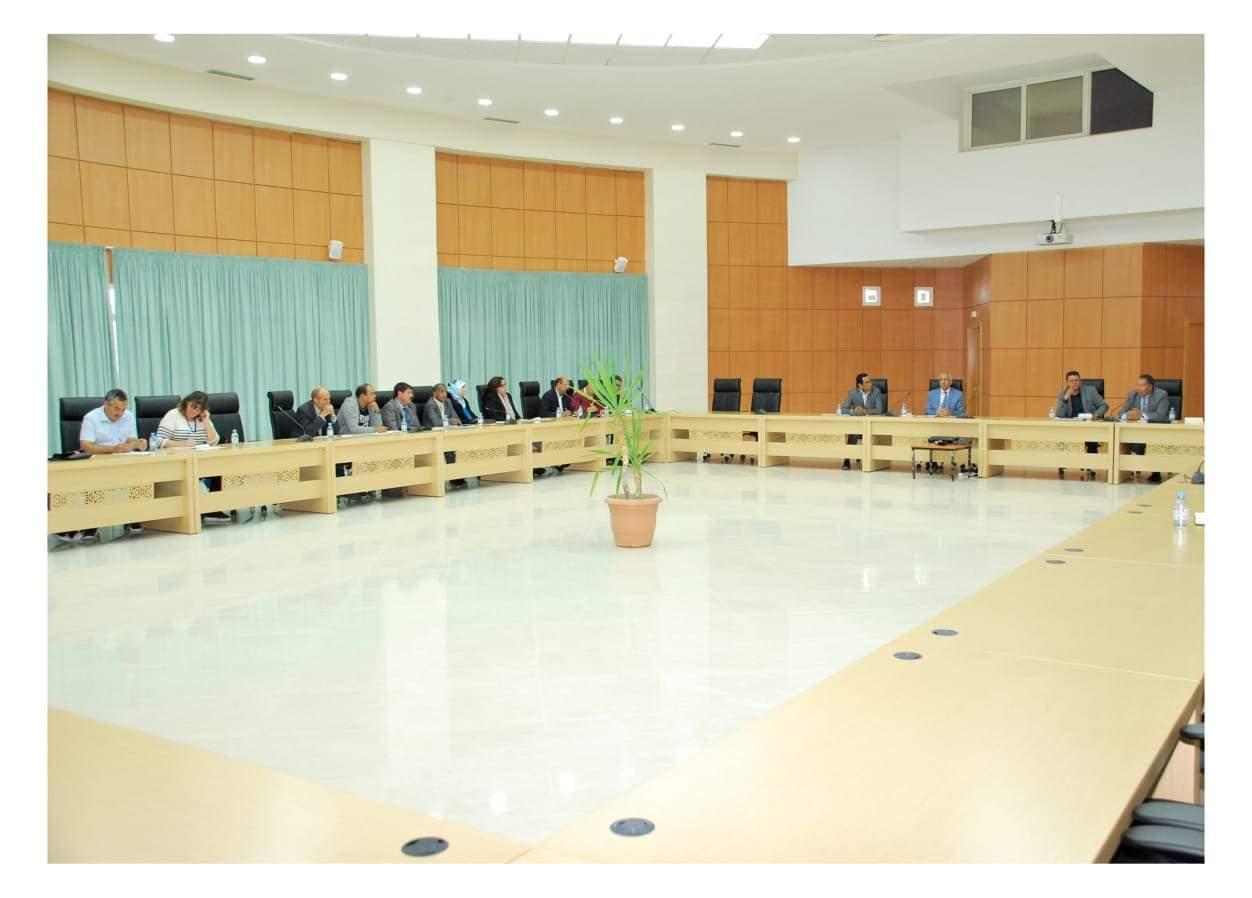 اجتماع اللجنة الإقليمية للتنمية الاقتصادية بعمالة ميدلت