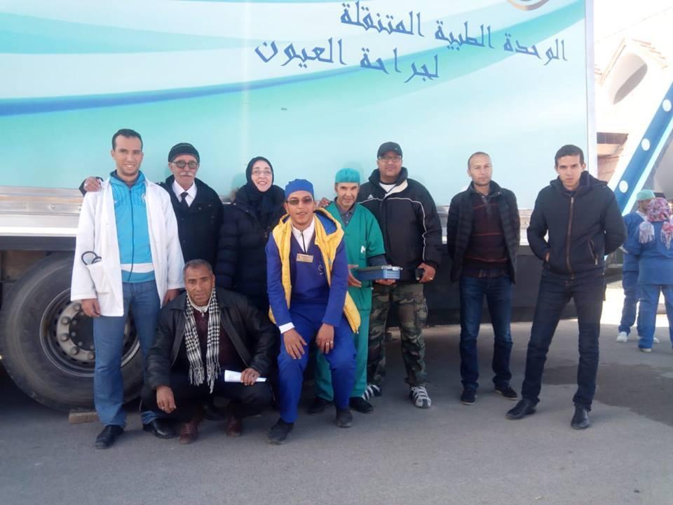 125عملية لازالة المياه الزرقاء و31عملية جراحية تقويمية للعضام حصيلة قافلة طبية بميدلت والريش