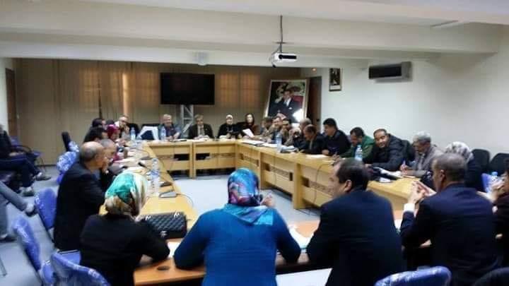 بالمجلس الترابي بميدلت تاجيل دورة فبراير بسبب عدم اكتمال النصاب القانوني.