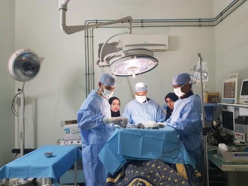 حملة طبية جراحية بمستشفى سيدي حساين بناصر و المندوبية الإقليمية لوزارة الصحة بورزازات.