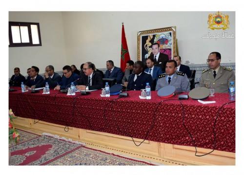 عامل إقليم ميدلت يتواصل مع منتخبي الجماعة الترابية للريش