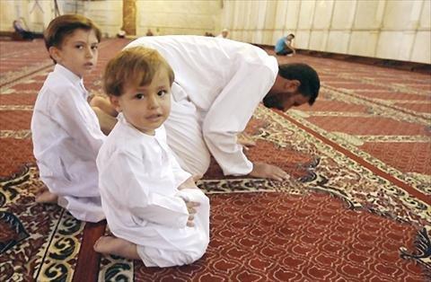 ناشئة في رحاب المسجد