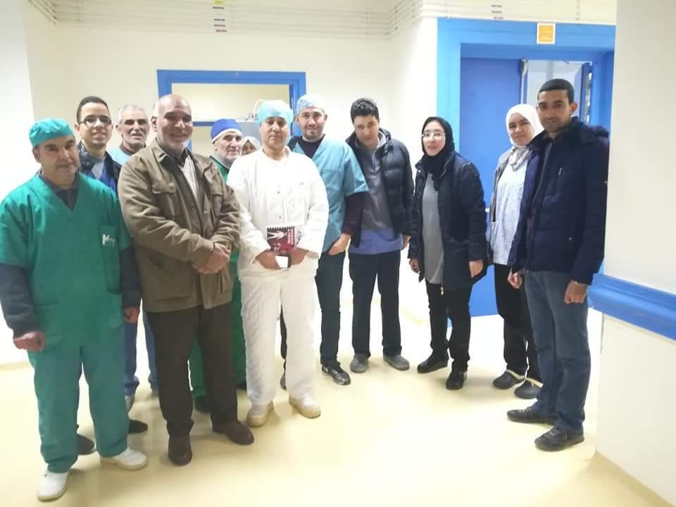 حملة طبية لجراحة الانف الاذن والحنجرة