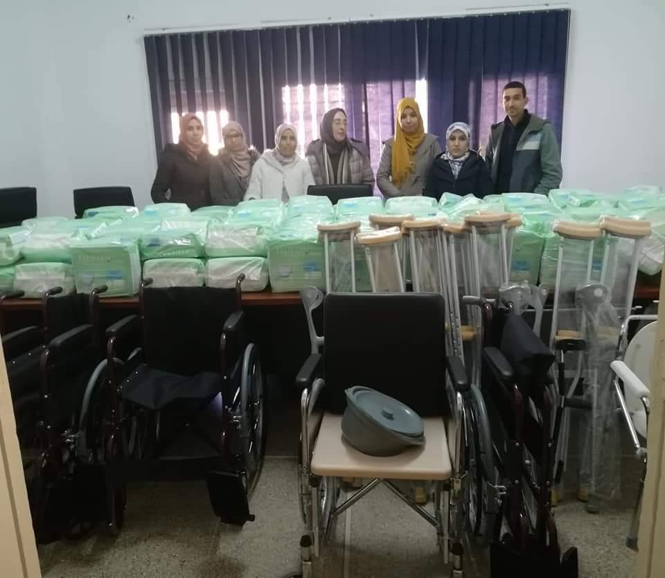 لمندوبة الإقليمية لوزارة الصحة بميدلت  توزيع مجموعة من المعدات والمستلزمات لفائدة الأشخاص في وضعية إعاقة