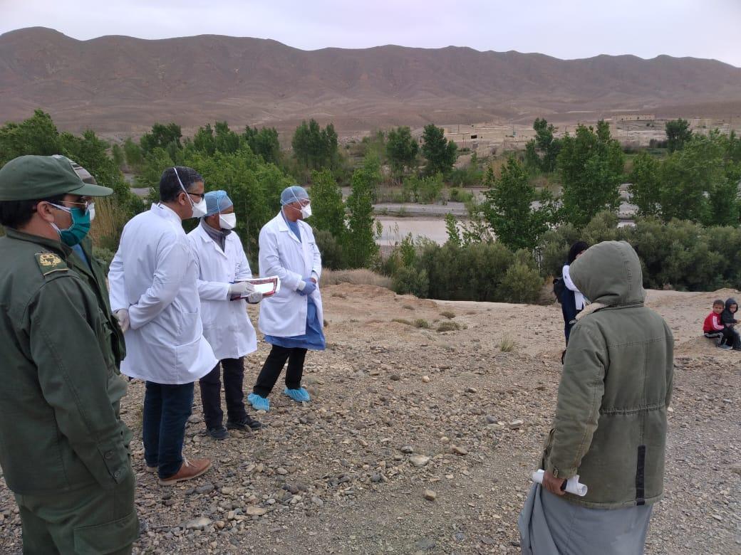 الدكتور حسن بوزيان في زيارة لكل من تگندوزت وتوغاش واموگر