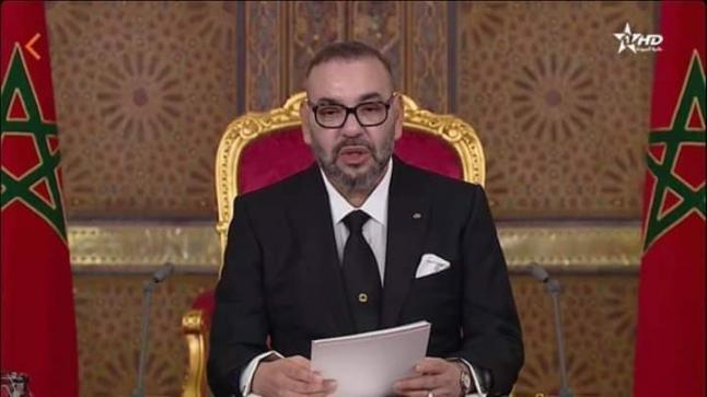 وجه صاحب الجلالة الملك محمد السادس، مساء اليوم الجمعة، خطابا ساميا إلى الأمة وذلك بمناسبة الذكرى الثامنة والستين لثورة الملك والشعب.