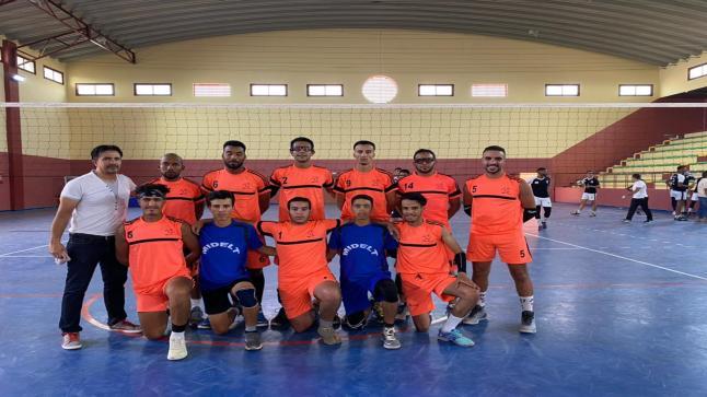 فريق الكرة الطائرة ميدلت يعود بفوز ثمين من مدينة الراشيدية