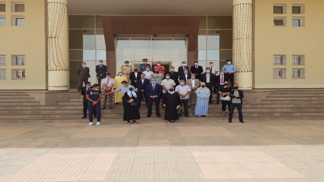 """تخليد اليوم الوطني للمهاجر بعمالة اقليم ميدلت، تحت شعار: """"دور المغاربة المقيمين بالخارج في تنزيل النموذج التنموي الجديد"""""""