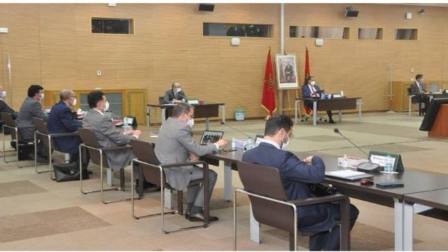 اجتماع حول تقدم الدراسات التقنية المرتبطة بمشروع الطريق السريع الحاجب – الرشيدية – الريصاني