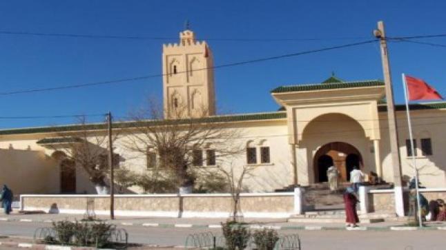 ايتزار : انفلونزا مضايقة الأئمة و العاملين في المساجد تصل إلى مسجد حي الفرح